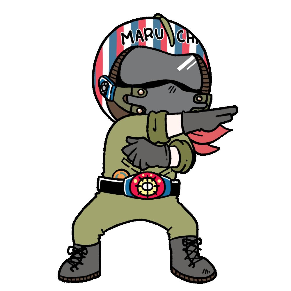 管理人のマルちゃん仮面